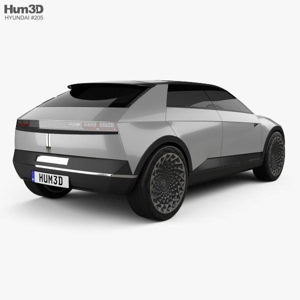Hyundai 45 EV 2019 3D model