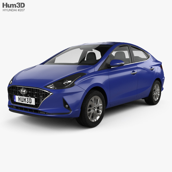 Hyundai HB20 S 2019 3D model