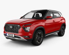 Hyundai ix25 2020 3D model