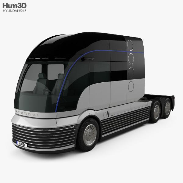 Hyundai HDC-6 Neptune Tractor Truck 2019 3D model