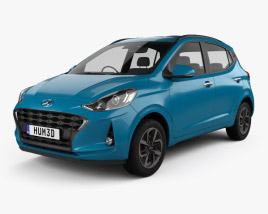 3D model of Hyundai i10 Grand Nios 2019