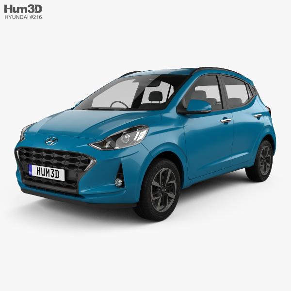 Hyundai i10 Grand Nios 2019 3D model