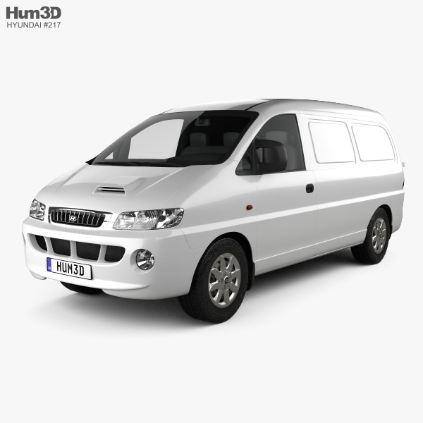 3D model of Hyundai H-1 Panel Van 1997