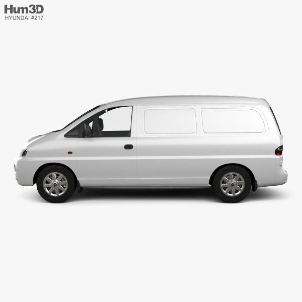 Hyundai H-1 Panel Van 1997 3D model