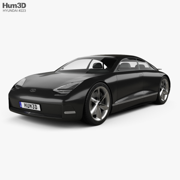 Hyundai Prophecy 2020 3D model