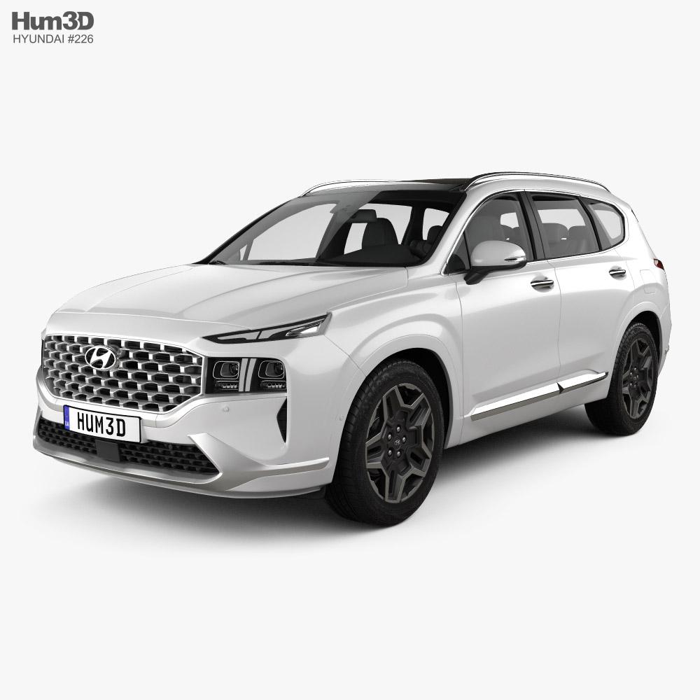 Hyundai Santa Fe 2021 3D model