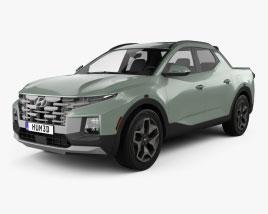 Hyundai Santa Cruz 2022 3D model