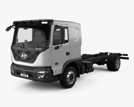 Hyundai Pavise Chassis Truck 2019 3D model