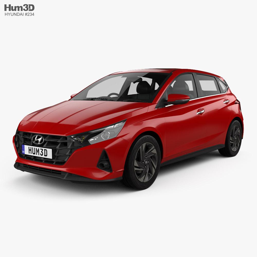 3D model of Hyundai i20 Asta 2020