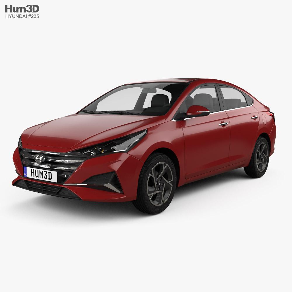 Hyundai Verna 2020 3D model
