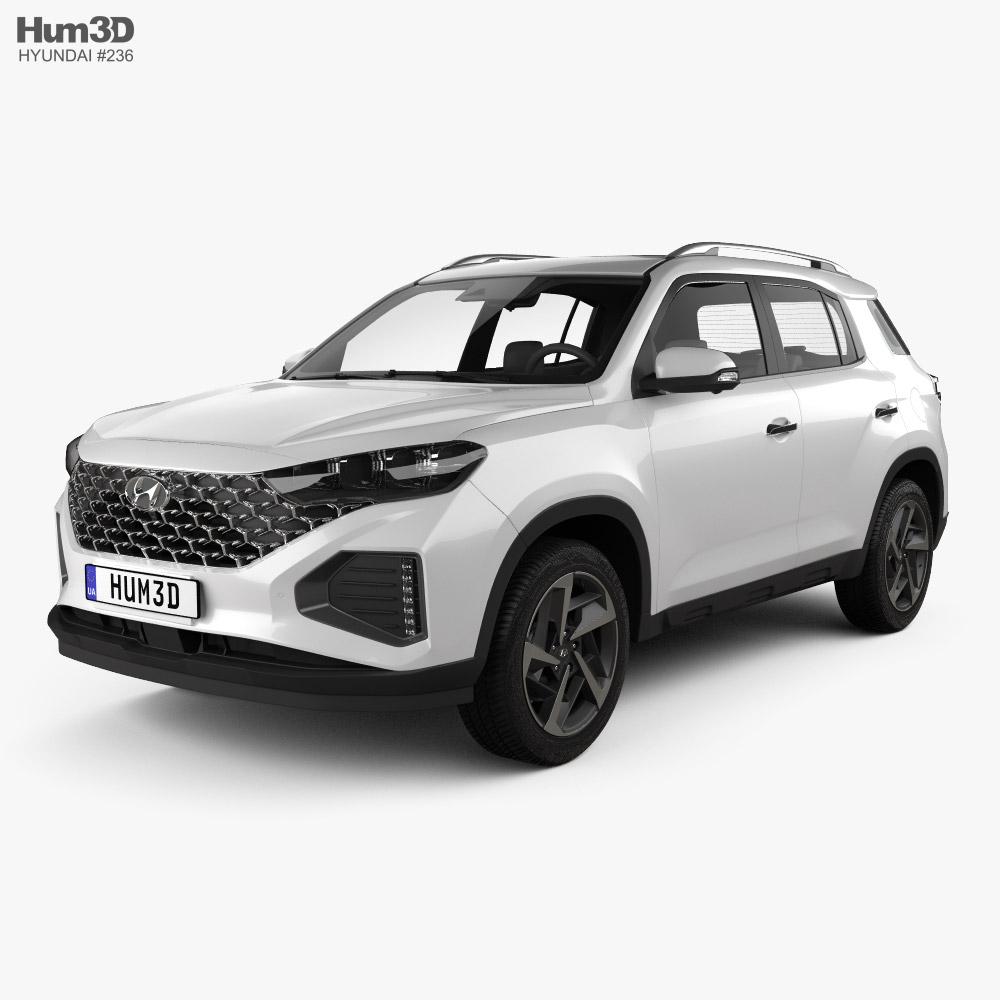 Hyundai ix35 CN-spec 2021 3D model