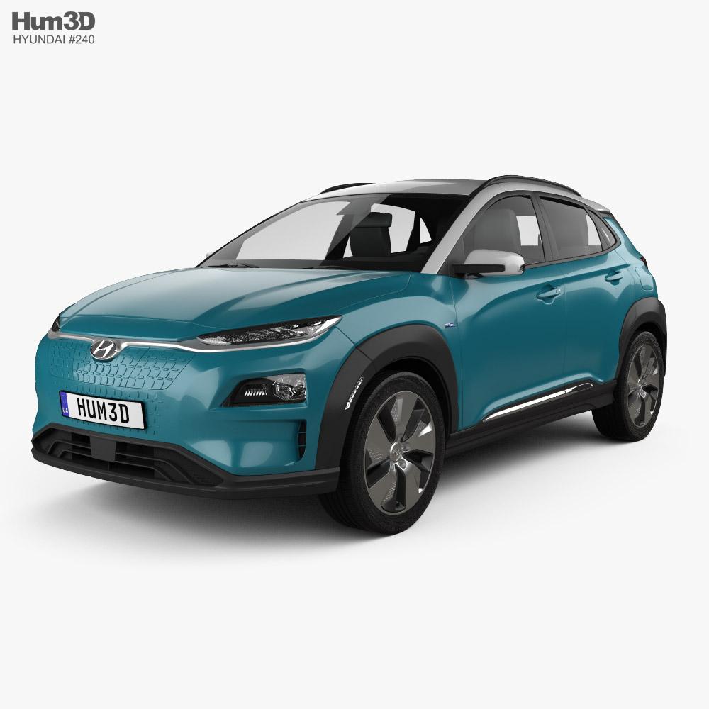 Hyundai Kona Electric 2020 3D model