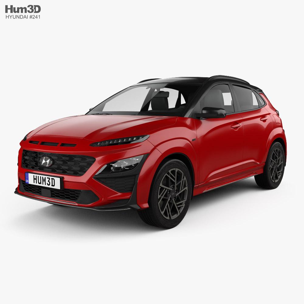 Hyundai Kona N-Line 2020 3D model