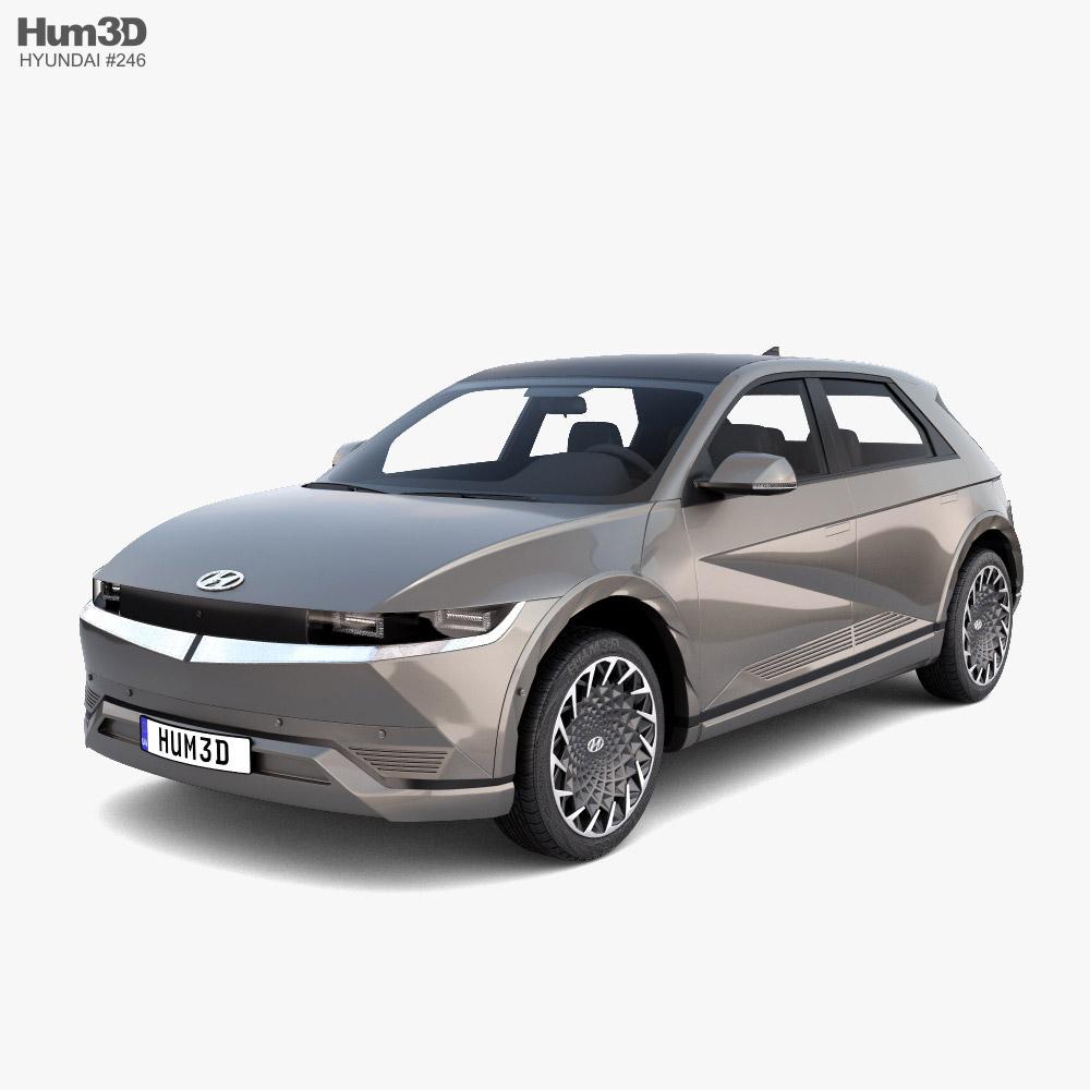 Hyundai Ioniq 5 2022 3D模型