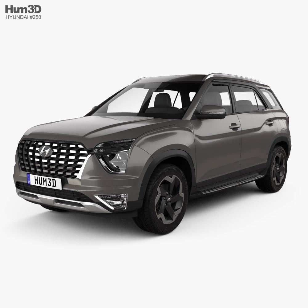 Hyundai Alcazar 2021 3D model
