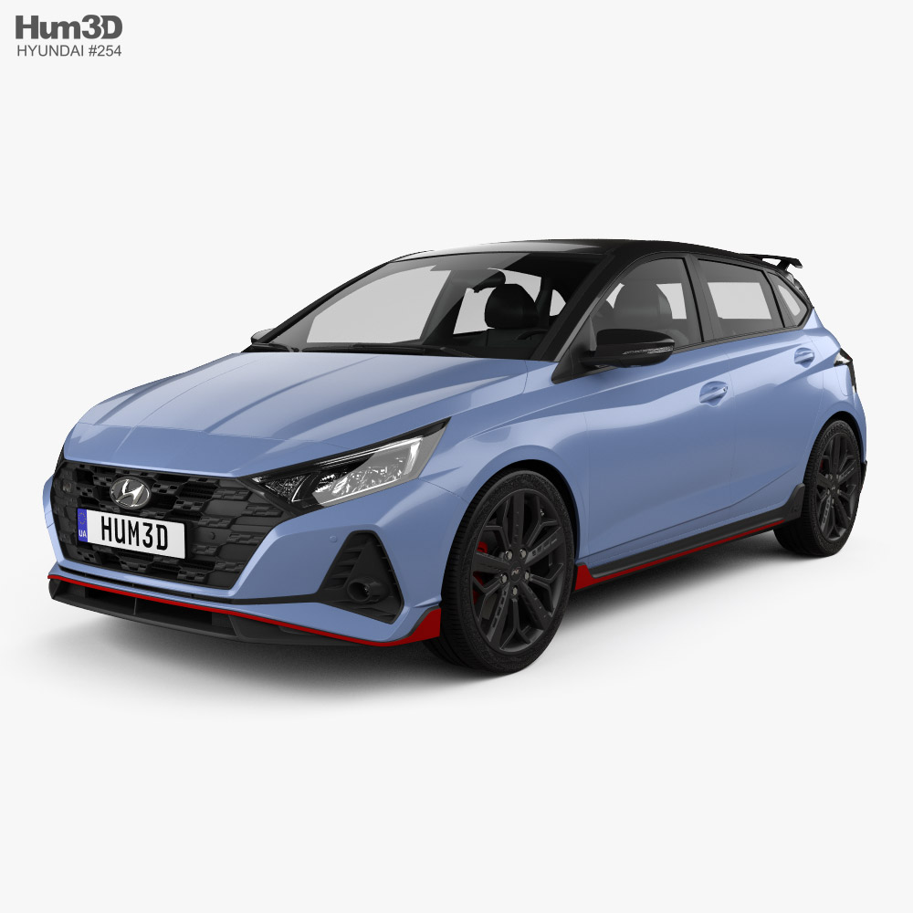 Hyundai i20 N 2020 3d model