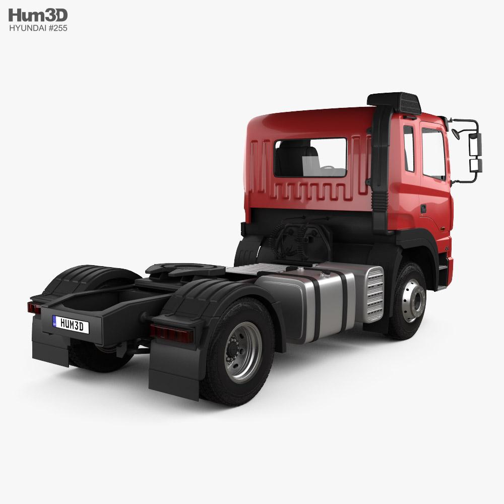 Hyundai Trago Tractor Truck 2-axle 2008 3d model