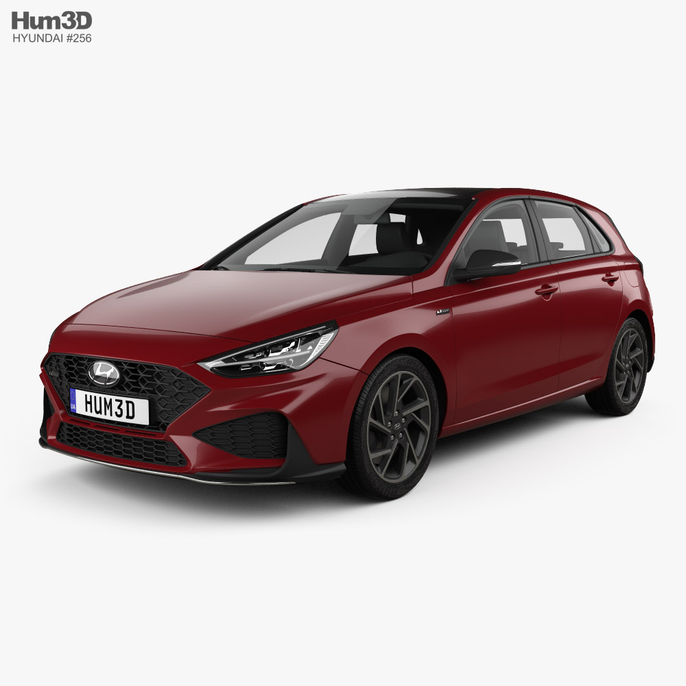 Hyundai i30 N-Line hatchback 2020 3D model