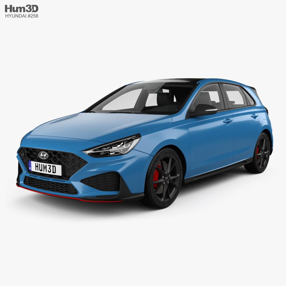 Hyundai i30 N hatchback 2020 3D model