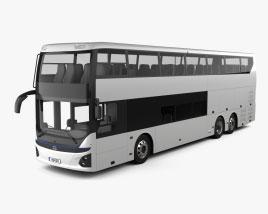 Hyundai Elec City Double-Decker Bus 2021 3D model