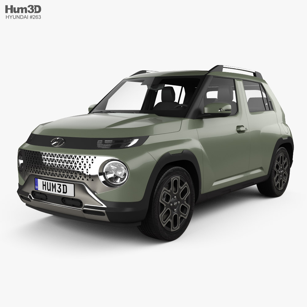 Hyundai Casper 2021 3D model