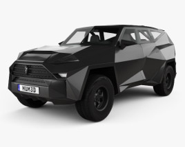 3D model of IAT Karlmann King SUV 2019