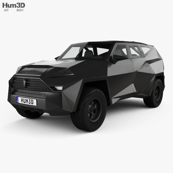 IAT Karlmann King SUV 2019 3D model