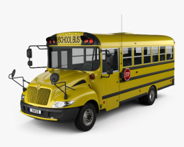 3D model of IC BE School Bus 2012