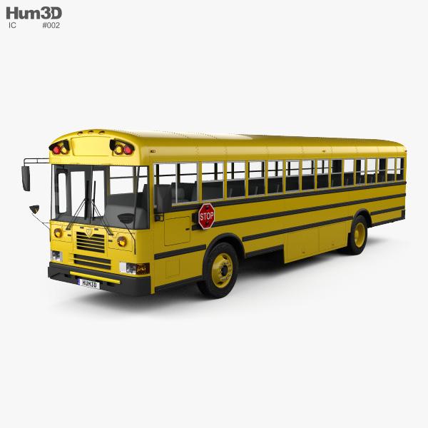 IC FE School Bus 2006 3D model