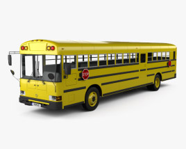 3D model of IC RE School Bus 2008