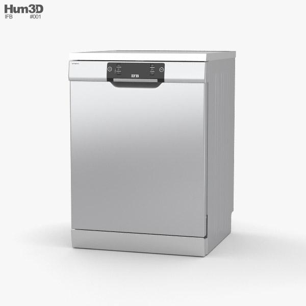 3D model of IFB Neptune SX1 Dishwasher