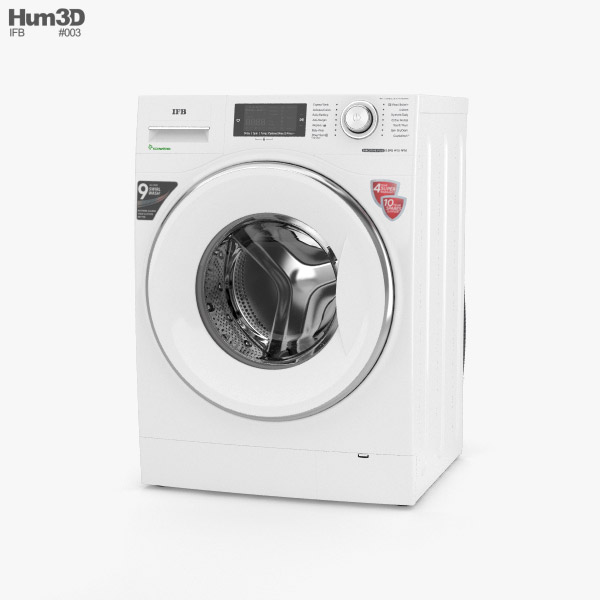 3D model of IFB Executive Plus VX ID Washing Machine