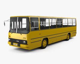 3D model of Ikarus 260-01 Bus 1981