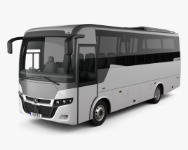 3D model of Indcar Next L8 MB Bus 2017