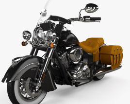 3D model of Indian Chief Vintage 2014