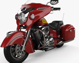 3D model of Indian Chieftain 2015