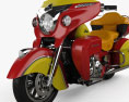 Indian Roadmaster 2015 3d model