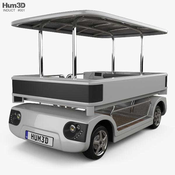 Induct Navia 2016 3D model