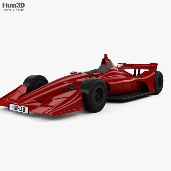 Indycar Short Oval 2018 3D model