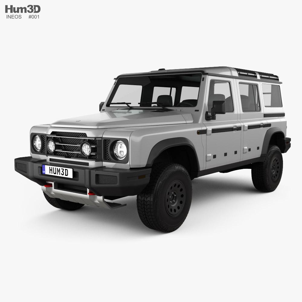 Ineos Grenadier 2021 Modello 3D