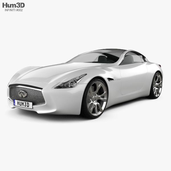 Infiniti Essence 2011 3D model