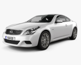 3D model of Infiniti Q60 (G37) Coupe 2009