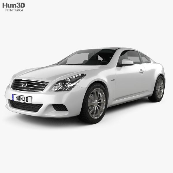 Infiniti Q60 (G37) Coupe 2009 3D model