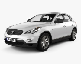 3D model of Infiniti QX50 (EX) 2009