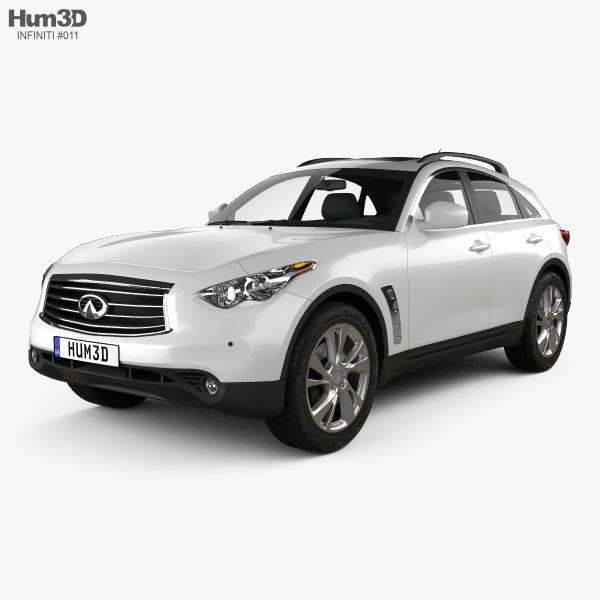 Infiniti QX70 (FX) 2012 3D model