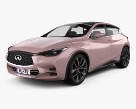 3D model of Infiniti Q30 Concept 2013