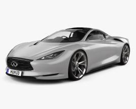 3D model of Infiniti Emerg-E 2012