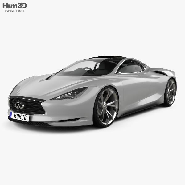 Infiniti Emerg-E 2012 3D model