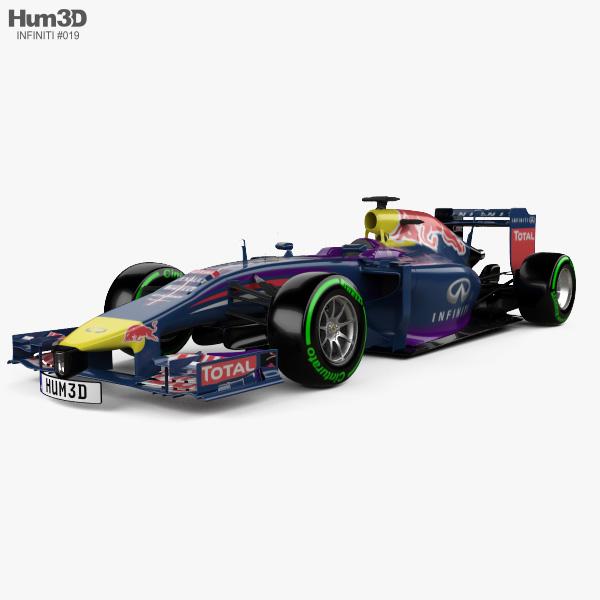 3D model of Infiniti RB10 2014