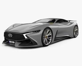 3D model of Infiniti Vision Gran Turismo 2014